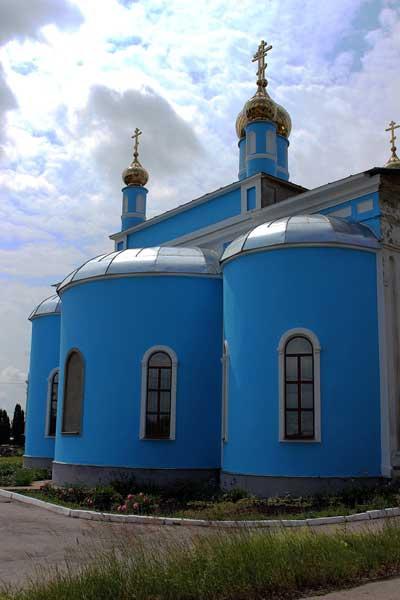 Свято-Иверский храм пос. Тёплое