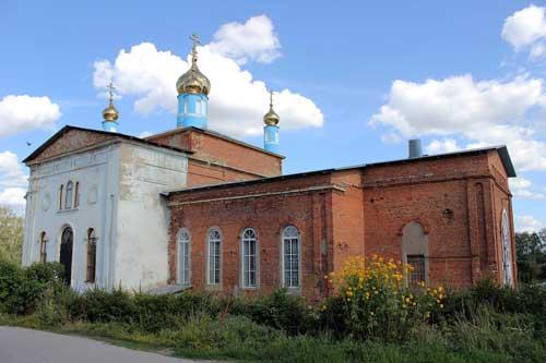 Храм пос. Тёплое